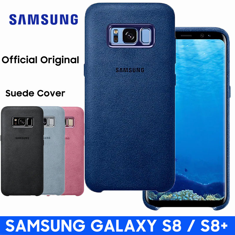 Samsung S8 Case Luxury Original Official Genuine Car Suede Leather Protector Cover Samsung Galaxy S8 Plus Case Galaxy S8 S8 in Fitted Cases from Cellphones Telecommunications