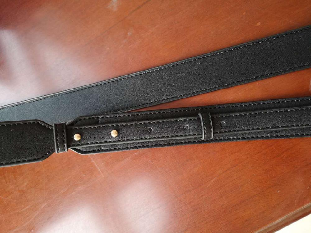 Simple Bag Strap New Leather Koeitje Accessoire met Microfiber rundleder Wide Bag Schouderriem Diagonale verstelbare handtasband photo review
