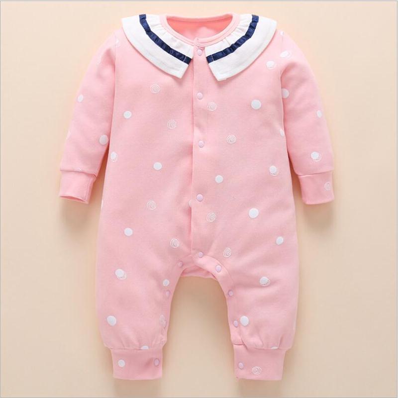 9b9922f5e Baby Romper Clothes Set 2018 Spring Summer Cotton Newborn Baby Girls ...