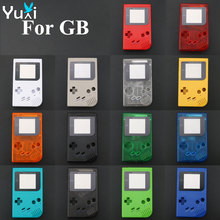 YuXi Wholesale price For Gameboy Classic Game Replacement Case Plastic Shell Cover for Nintendo GB Console housing стоимость