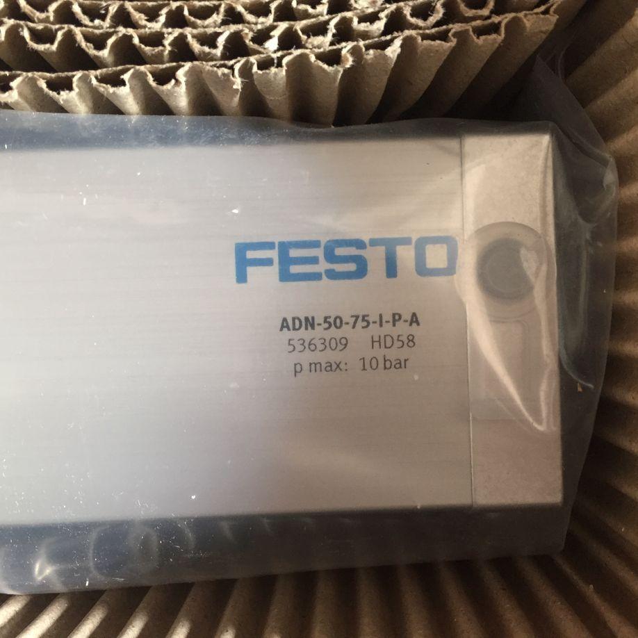 The new FESTO cylinder ADN-50-75-I-P-A 536309 genuine adn 50 160 i p a 536309 germany festo cylinders