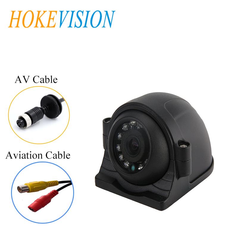 HOKEVISION Car Backup Camera 12 LED IR Night Vision Waterproof IP68 Wide Angle reverse camera CMOS 600tvl