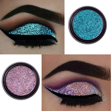 14 Color Metallic Shimmer Eye Shadow Palette Smoky Purple Red Blue Pigmented Powder Glitter Sequins Eyeshadow Kits Cosmetic New