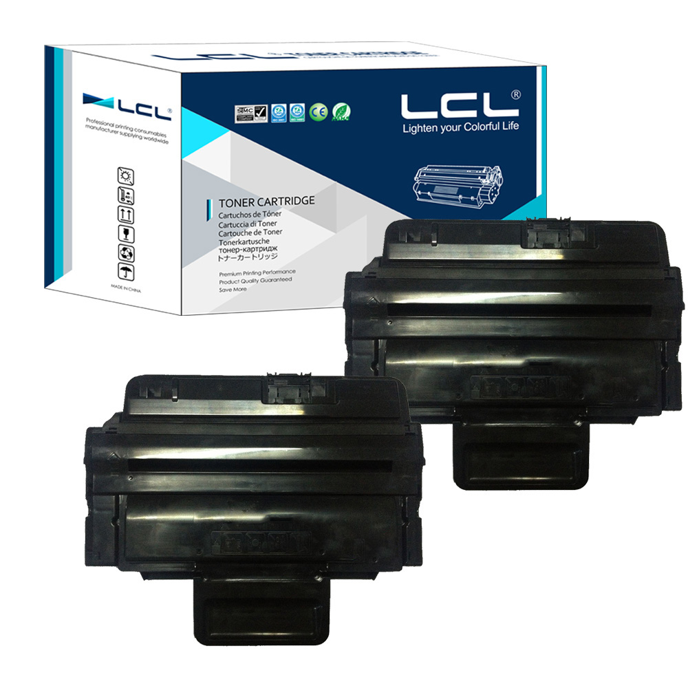 LCL 106R01486 3210 5000 Pages (2-Pack Black) Toner Cartridge Compatible for Xerox WorkCentre 3210/3220 lcl scx d4200a scxd4200a scxd4200 4200a 2 pack black toner cartridge compatible for samsung scx 4200