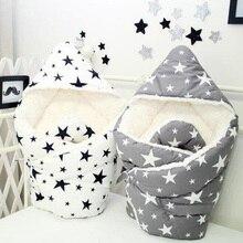 Детское осенне-зимнее Хлопковое одеяло для новорожденных, постельные принадлежности, одеяло, кровать, диван, корзина для коляски, Осень-зима