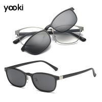 2019 Fashion Polarized Flip Up Clip On Sunglasses Black 100% UV Protection Fishing Men Women Night Glasses