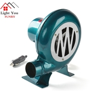 12V 80W Car Blower Barbecue DC blower Vehicle 12V DC Barbecue Camping Fan BBQ Accumulator Storage Battery Blower