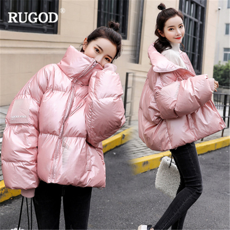 Women Warm blue pink Solid Sleeve Padded Short Parkas Befree Jacket Thick Coats Winter New Fashion Long Casual Cotton Elegant Rugod Beige Hx1wIqYRAA