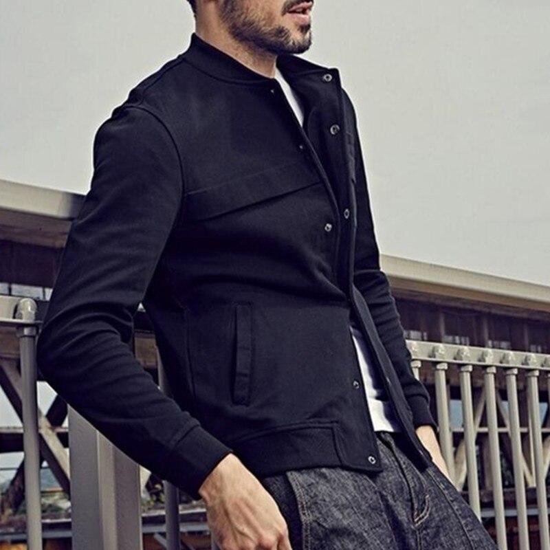Classic Mens Sweatshirts Long Sleeve Autumn Warm Winter Coats Plain Slim Fitness Joggers Bodybuilding Tops Men Clothes Outwear