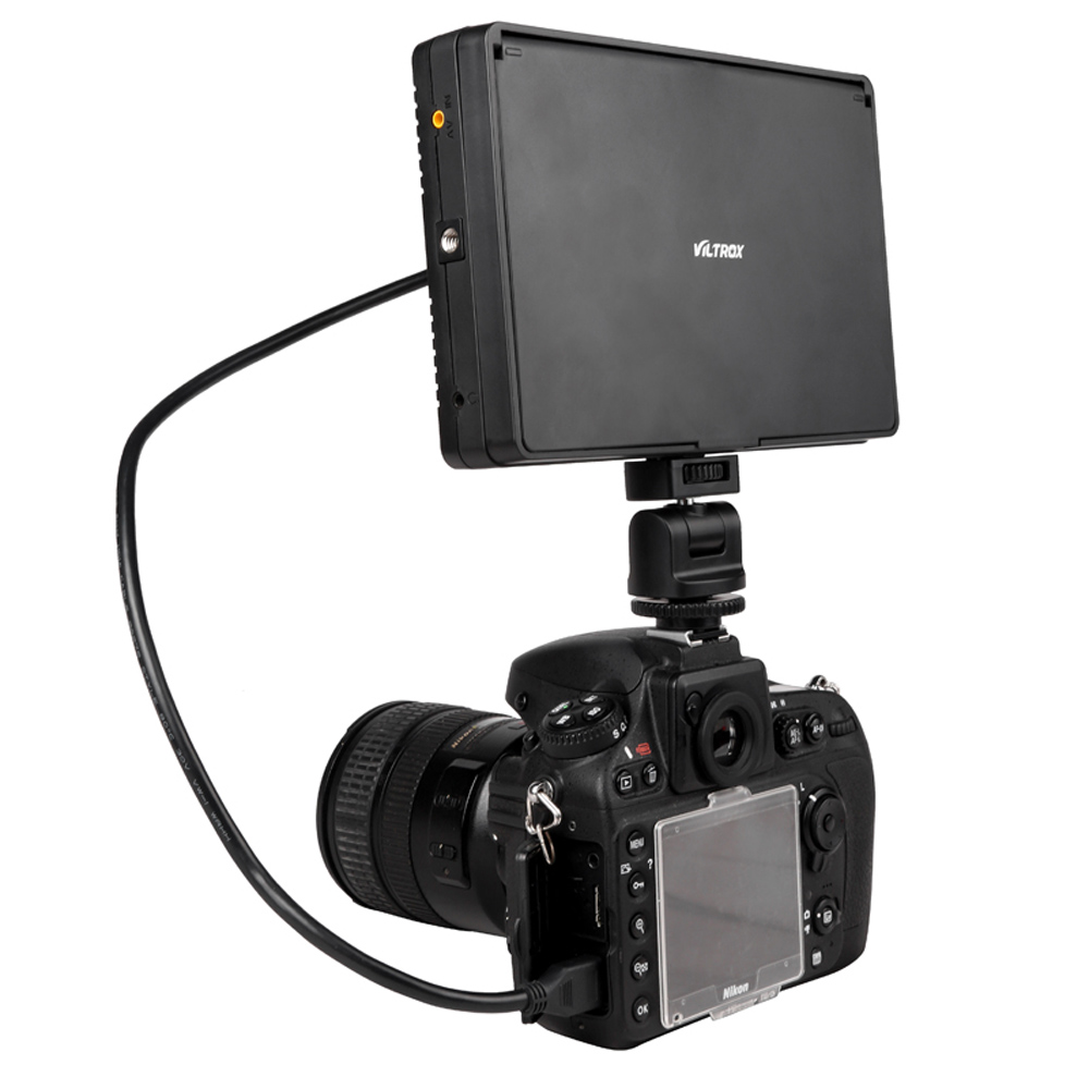 Viltrox hohe qualität DC 70 1280*800 7 ''Clip auf Farbe TFT LCD HD Monitor HDMI AV Eingang für DSLR Kamera Camcorder-in Fotostudio-Zubehör aus Verbraucherelektronik bei  Gruppe 1