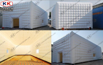 Cheap Clear Inflatable Camping Tent-Inflatable Cube Tent