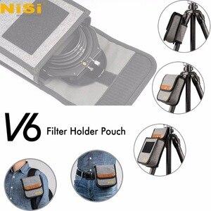 Image 4 - Kit de support de filtre Nisi V6 système 100mm avec filtre polarisant circulaire CPL 67 72 77 82mm bague adaptateur pour filtres carrés
