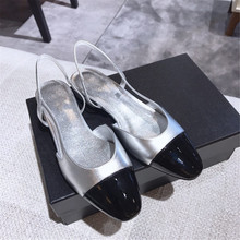 Queepace Designer Brands Italy Top Mirror Quality Women's Shoes Cow Leather Women's Sandals Ankle Straps Women's Flats Sandals