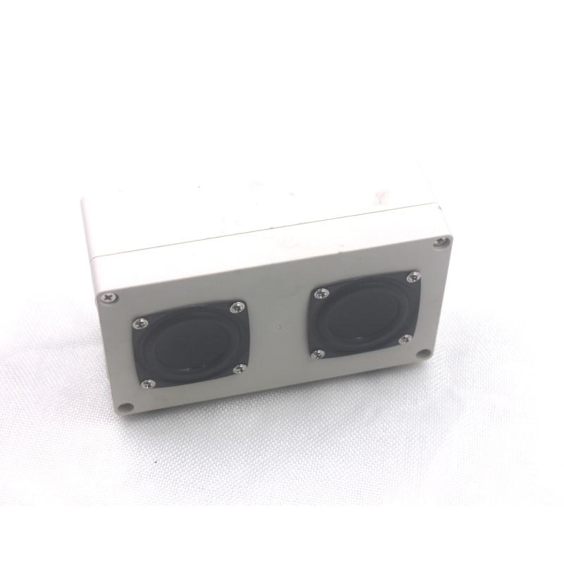 2 шт. 2 дюйма 8 Ом 12 Вт бас аудио динамик Средний НЧ-динамик Средний бас мультимедийный сабвуфер громкий динамик компьютерный динамик s - Цвет: speaker with Box