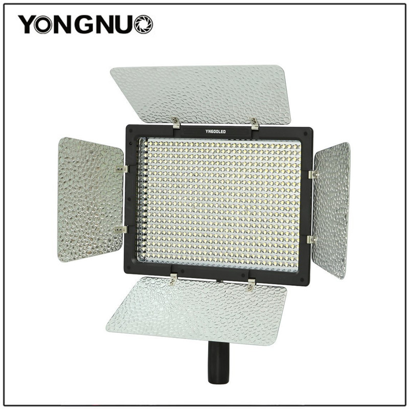 YongNuo YN600 LED Studio Video Light with Adjustable 3200K-5500K Color Temperature and Brightness YN-600 For the DSLR Camcorders