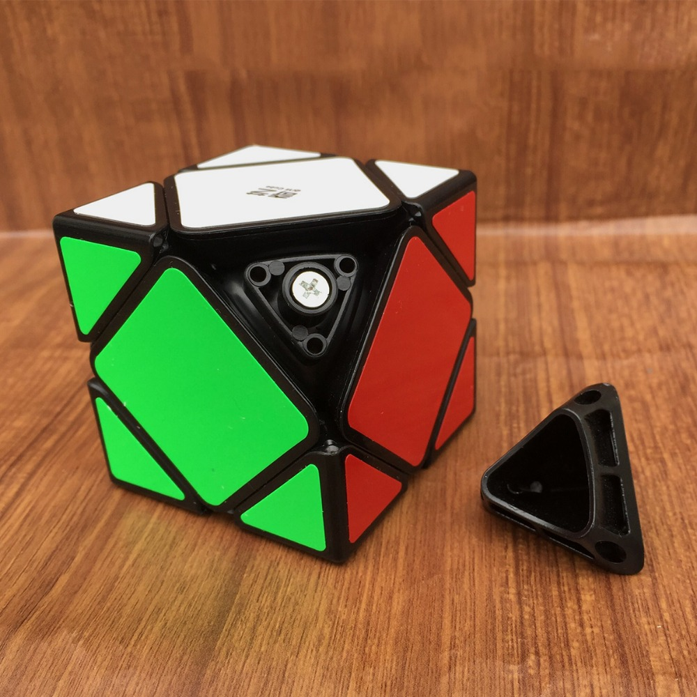 Qiyi QiCheng A Speed Magic Cube Skewed Speed Cube Magic Bricks Block Brain Teaser New Year Gift Toys for Children in Magic Cubes from Toys Hobbies
