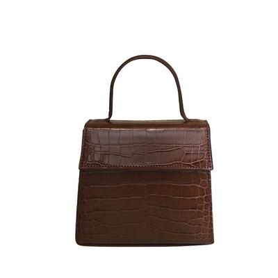 Crocodile Bag Top Handle...