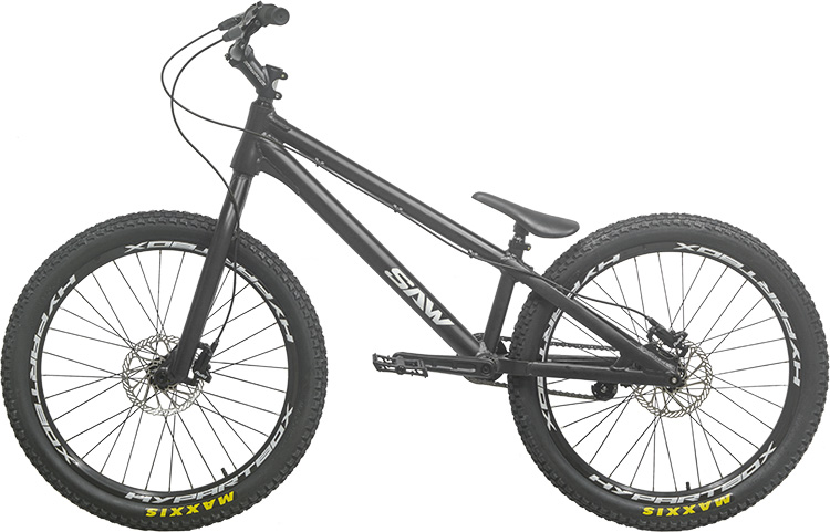 Più nuovo Originale SEGA BIKE 24 pollici Strada Moto Da Trial ECHO Bike ZAR Ispirato Danny MacAskill