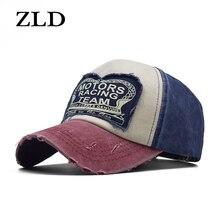 ZLD wiosna hurtownia czapka bawełniana czapka z daszkiem kapelusz na lato czapka w stylu Hip Hop zamontowane czapki dla mężczyzn kobiety szlifowanie Multicolor new fashion