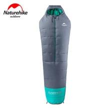 Naturehike, 0-10 градусов, мумия, хлопковый спальный мешок, открытый, для кемпинга, для взрослых, спальный мешок, водонепроницаемый, Сверхлегкий, теплый, спальные мешки