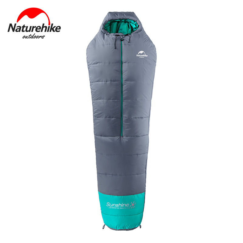 Naturehike 0-10 degree mummy cotton sleeping bag outdoor camping adult sleeping bag waterproof ultralight warm sleeping bags naturehike mummy sleeping bag ultralight camping outdoor 3 season cotton winter adult sleeping bags for tourists 1750g 210 80cm