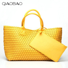 QIAOBAO Wallet Gift Bag Brand Quality Leather Womens Handbag Messenger Bag Vintage