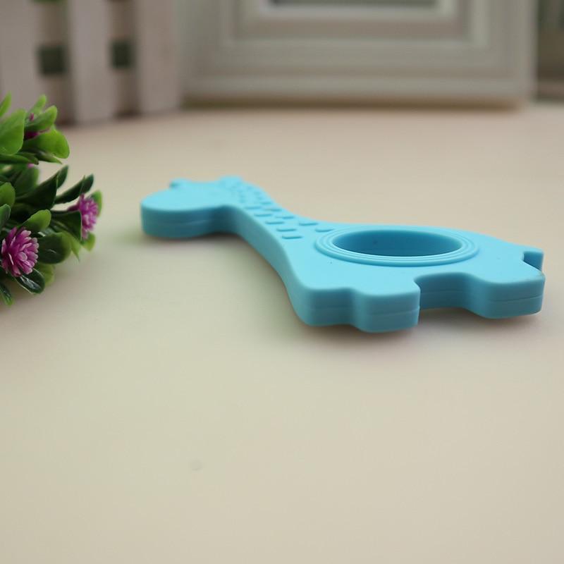 NEUE Baby Beißringe Kinder Silikon Beißen Spielzeug kinder Rasseln - Säuglingspflege - Foto 5