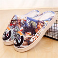 New Arrival Anime OW Womens Mens Plush Slippers Winter Warm Soft Shoes Cute Antiskid Home Indoor Slippers