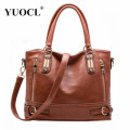 Hot sale 2016 Fashion Designer Brand Women Pu Leather Handbags ladies Shoulder bags tote Bag female Retro Vintage Messenger Bag