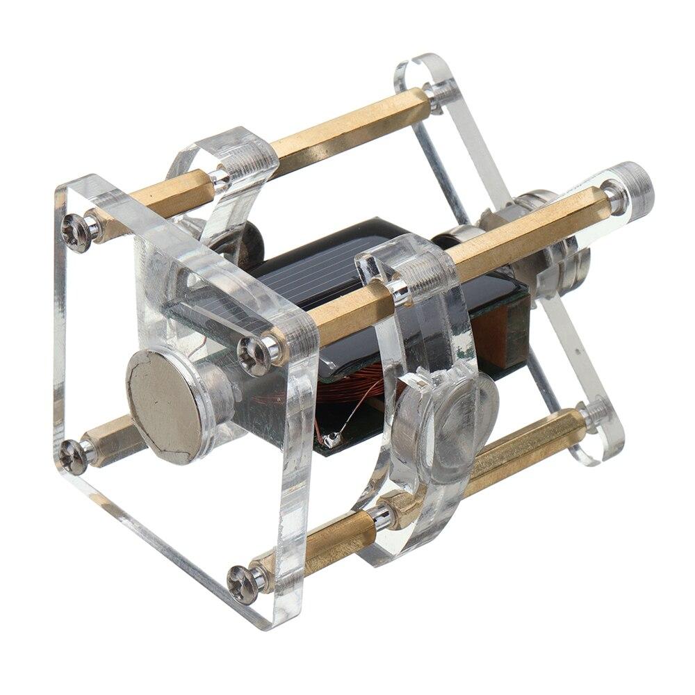 Vertical alta mendocino motor solar levitação magnética brinquedo modelo educacional