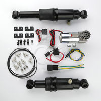 Rear Air Ride Suspension For Harley Touring Road King Electra Street Tour Glide 1994 2017