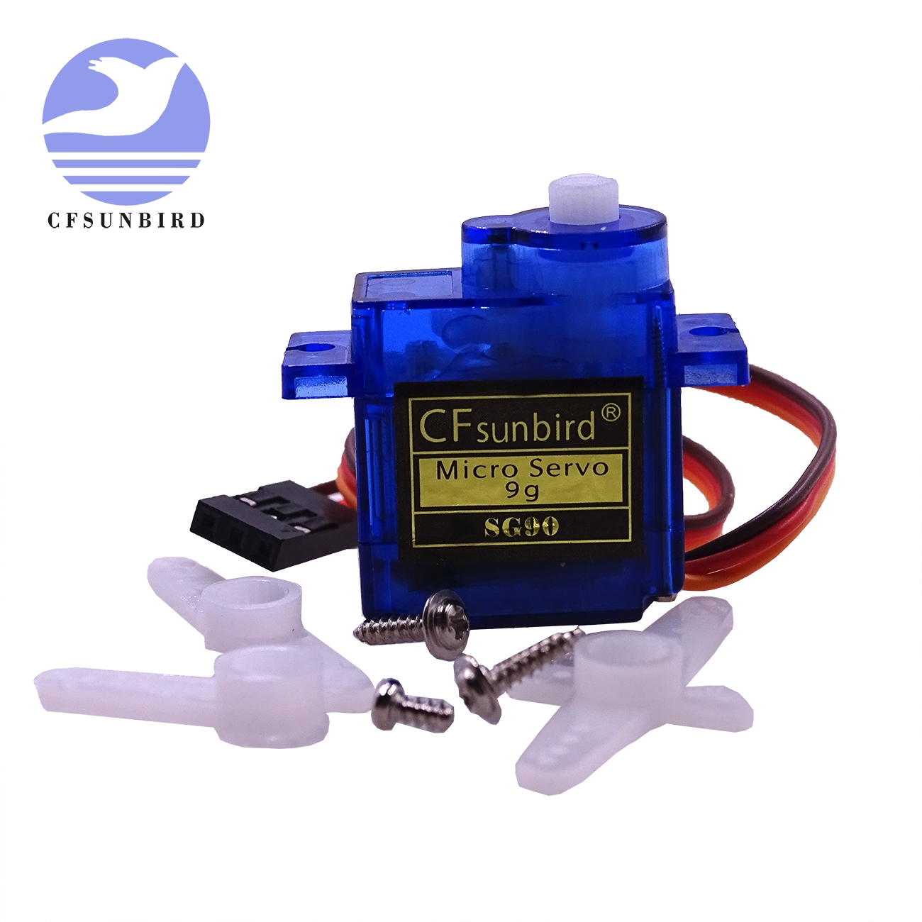 CFsunbird1pcs/lot SG90 9g Mini Micro Servo For RC For RC 250 450 Helicopter Airplane Car