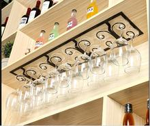 Red wine glass rack hangs crossover vehicle suspension beverage holder