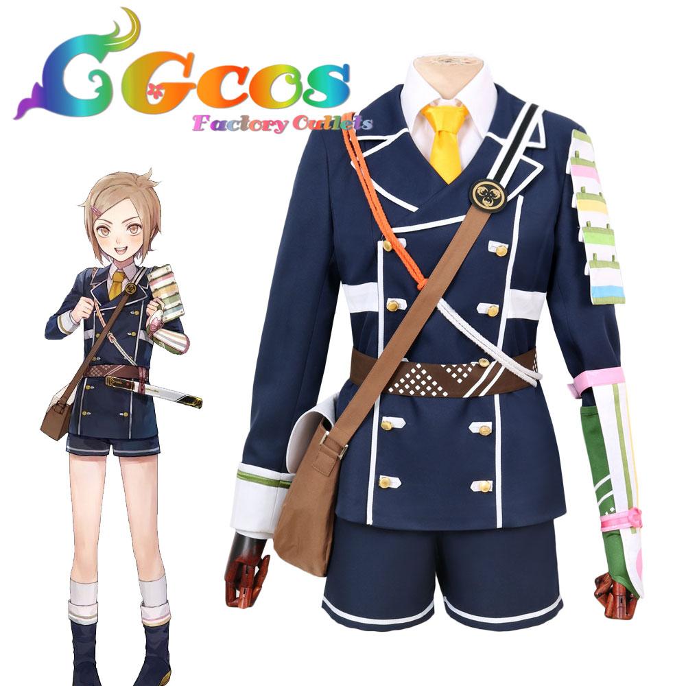 CGCOS Free Shipping Cosplay Costume Touken Ranbu Online Houchou Toushirou Uniform Anime Halloween Christmas Party Game Daily