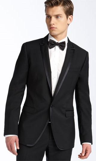 Bridal new peak, lapel man, wedding dress, ball dress, mens coat, slim pants jacket (coat + pants + tie)