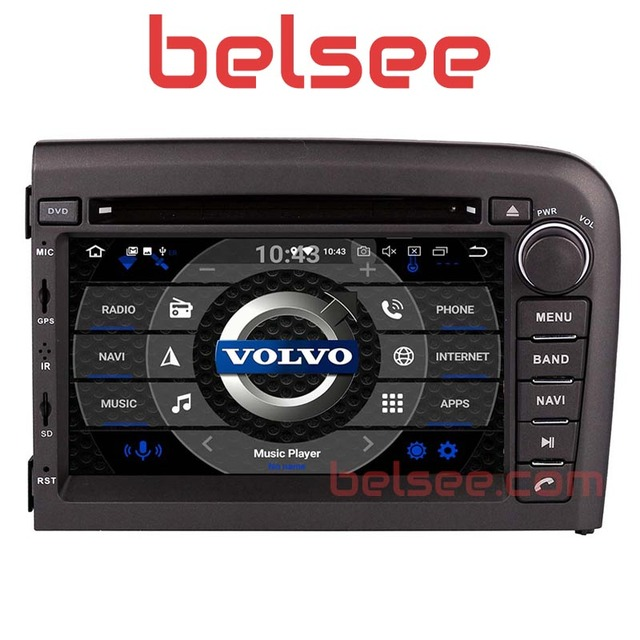 Belsee Android 8,0 Octa Core PX5 Авторадио Стерео Мультимедиа Радио gps навигации Аудио dvd-плеер автомобиля для Volvo S80 1998-2006