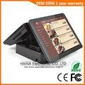 Haina Touch 15 pulgadas inalámbrico pantalla táctil Pos Terminal Ingenico POS pantalla Dual sistema
