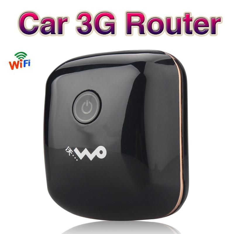 3G Mobile Hotspot Wifi Auto USB Modem 7.2Mbs Universale A Banda Larga Mini Wi-Fi Router Mifi Dongle con Slot Per SIM Card
