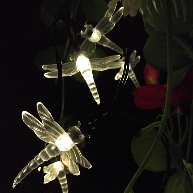 Yiyang dragonfly led solar lamps energy saving fairy string lights yiyang dragonfly led solar lamps energy saving fairy string lights outdoor animal festival party garden decorative mozeypictures Choice Image