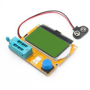 Image 4 - LCR T4 cyfrowy Tester próbnik elektroniczny rezystor kondensator Tester diody indukcyjności multimetr