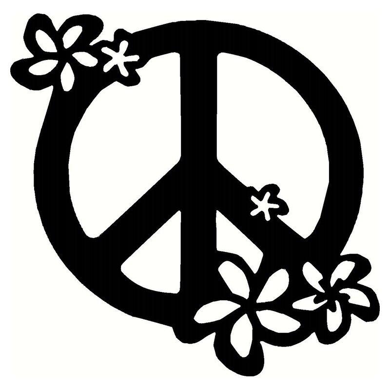 Оптовая 10шт/много, 20шт/много красочный мир знак цветок наклейка винил домашнего декора стены подходит для автомобиля грузовик дверь окно Крышка топливного бака