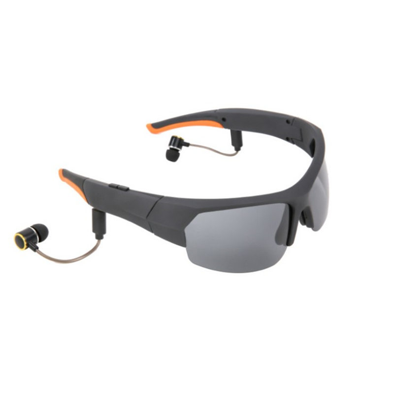 Stereo Headset Bluetooth Glasses Earphones Riding Sports Sunglasses Polarized Smart Wireless Music Headphones Noise Cancelling