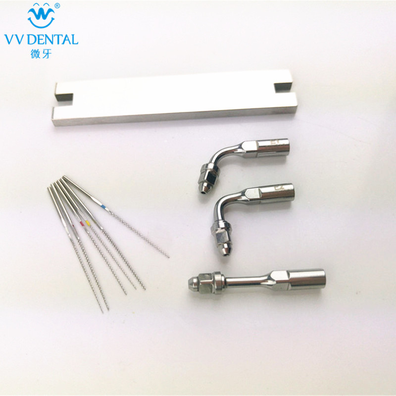 Endo tip scaler U-file/metal wrench scaler key fit for woodpecker/EMS dental equipment use for anterior teeth endodontics 2017 new 2 boxes dental original woodpecker niti endo endodontic u file optional 15  40 used for root canal cleaning