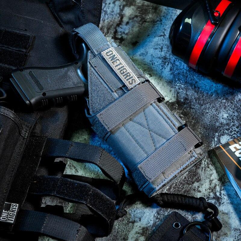 OneTigris Tactique Gun Holster Molle Modulaire Ceinture Minimaliste Pistol Holster pour Glock 17 19 22 23 31 32 34 35