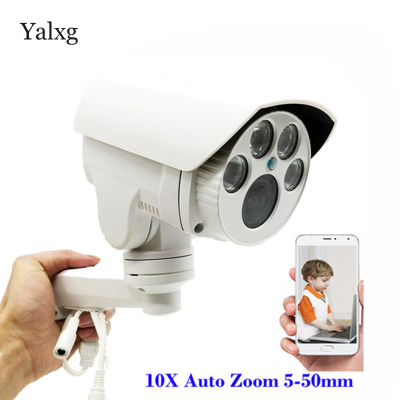 CCTV Full HD 960P/1080P PTZ AHD Camera 10X Optical Zoom 5-50mm Lens Autofocus Pan/Tilt/Zoom 1.3MP/2MP Outdoor Security Camera