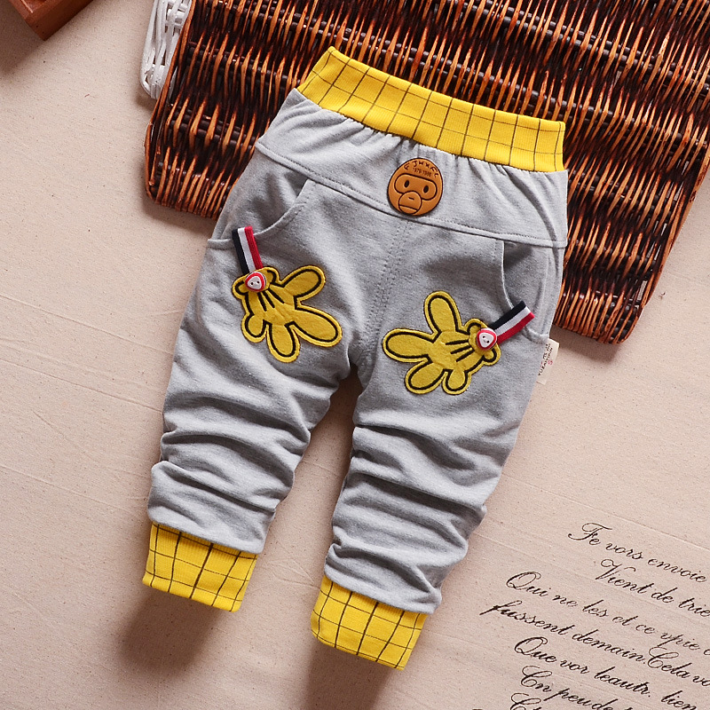2016-spring-autumn-new-baby-pants-Pentagram-and-letters-pattern-cotton-1-piece-sport-pants-baby-boy-girls-pants-0-2-year-1