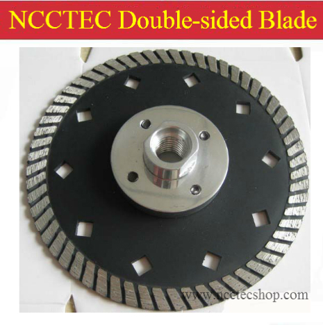 7'' NCCTEC Diamond Double-sided cutting disks | 180mm saw blade for grinding and cutting work | sold very well in Europe and USA folding saw cutting edges sk5 three surface grinding double screw security firm hacksaw blade sharp saws for cutting tool