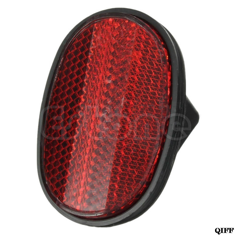 Red Bicycle Bike Rear Fender Safety Warnning Reflector Tail MudGuard Cycling New MAR28