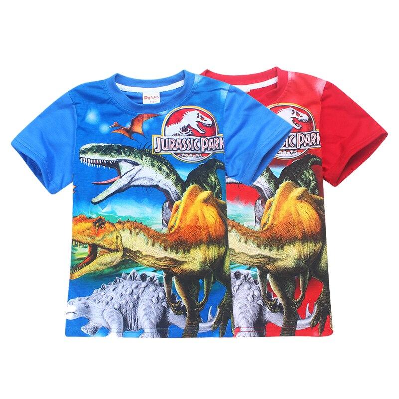 Buy Jurassic World Dinosaur Boys T Shirt Summer Baby Kids Roblox