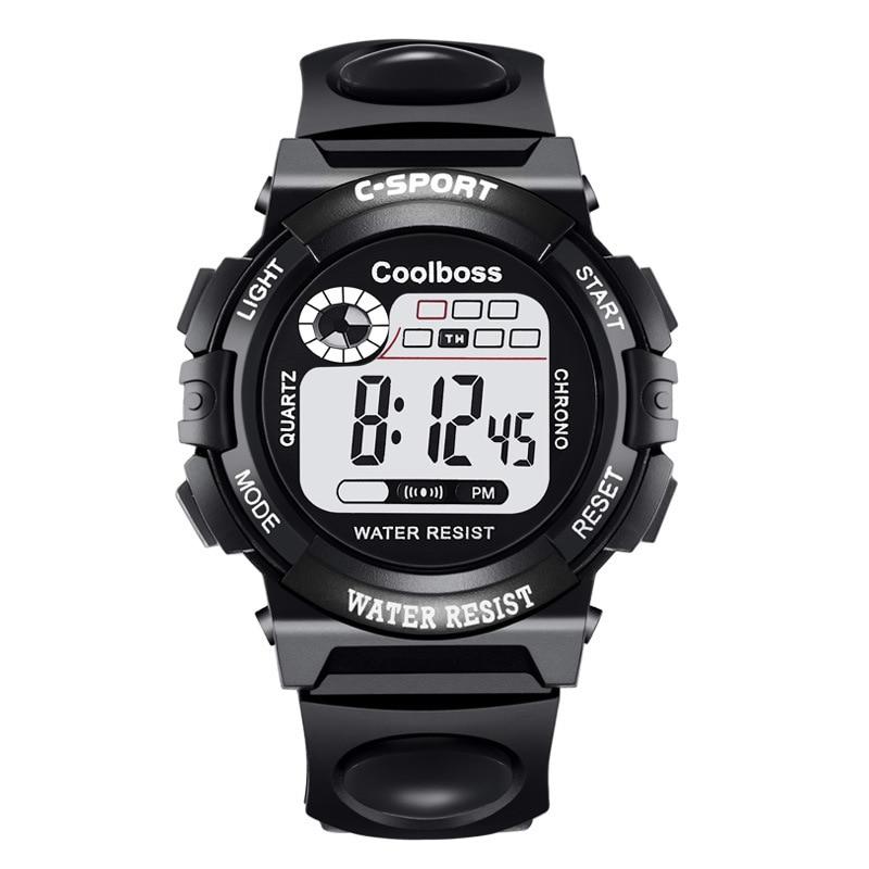NEW Luxury Digital Alarm Stopwatch Back Light Watch Women Men Children Sports Wrist Watch Clock Relogio Feminino Masculino 8A93